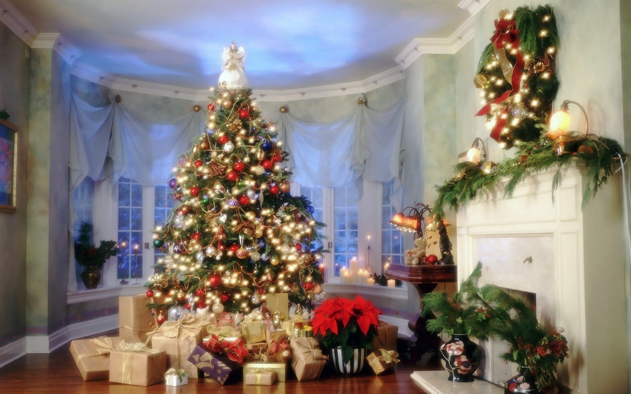 christmas new year tree wallpapers 11jpg